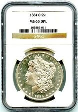 1884-O Morgan Silver Dollar NGC MS-65 DMPL, Awesome White Luster, Great Mirrors!