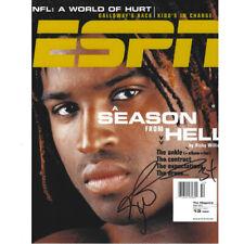 NFL Ricky Williams ESPN Magazine On Cover Season Of Hell Photo Autograph 8x10