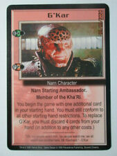 1999 Babylon 5 Ccg - Severed Dreams - Rare Card - G'Kar