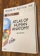 Frank H. Netter Atlas of Human Anatomy 6th edition Paperback ISBN 9780808924517