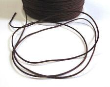 5M fil de nylon , queue de rat , marron 1mm