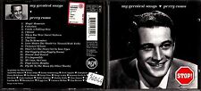 CD 1523 MY GREATEST SONGS  PERRY COMO