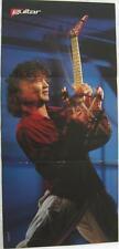 1984-Eddie Van Halen-Playing Guitar- Photo:Timothy White- Vtg Poster Art Print