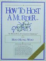 HOO HUNG WOO A Murder Mystery Game! How to Host A Murder!