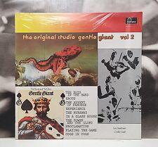 GENTLE GIANT - THE ORIGINAL STUDIO GENTLE GIANT VOL. 2 LP SEALED 1974 FONTANA