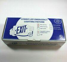Combo Led Emergency Lighting Fixture Brand New