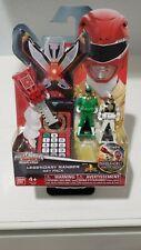 Power Rangers Super Megaforce - Red, Green, and White Legendary Ranger Keys