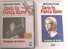 DARIO FO e FRANCA RAME Parliamo di Donne (1977) DVD + LIBRO