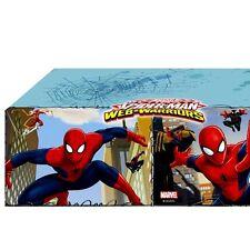 Spiderman Partytischdecke aus Folie, abwischbare Tischdeko, 1,2×1,8m