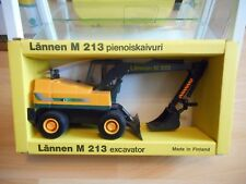 Emek Lannen M 213 Excavator in ORange/Green on 1:25 in Box (Made in Finland)