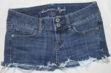 AMERICAN EAGLE WOMEN'S STRETCH ARTIST JEAN SHORTS~ SIZE O