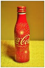 Japan Coke Cocacola FIREWORKS 2017 Summer special edition Aluminum Bottle NEW