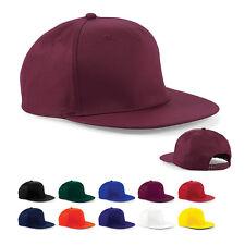 Beechfield Snapback-Cap Kappe Hip-Hop 5-PANEL SNAPBACK RAPPER CAP Neu CB610