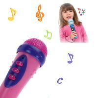 Cute Girls Boys Microphone Mic Karaoke Singing Funny Gift Music Toy Hoc