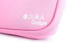 "Pink Case For Kurio 7"" Android Kids Tablet Lightweight Neoprene w/ Twin Zip"