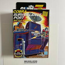 New listing Hasbro G.I.Joe Arah 1986 Cobra Surveillance Port Mib Sealed Contents