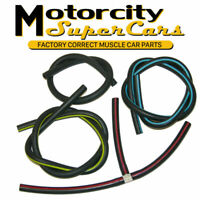 71-72 Cutlass 442 W-30  engine vacuum hoses colors AUTO