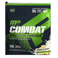 Muscle Pharm Combat Protein Powder Cookies and Cream For Athletes 6 Pounds