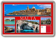 FRIDGE MAGNET - MALTA - Large - TOURIST