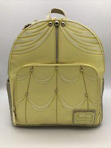Loungefly Disney Princess Belle Beauty & the Beast Yellow Dress Mini Backpack