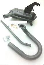 Lambretta LI TV Series 1 2 150cc Exhaust Silencer Bend Pipe Clamp Gasket Set