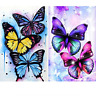 2 Pack 5D Full Drill Diamond Painting Kit, KISSBUTY DIY Diamond Rhinestone Kits