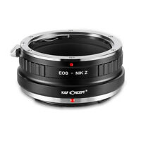 New K&F Concept adapter for Canon EOS EF mount lens to Nikon Z6 Z7 camera