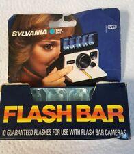 Vintage Sylvania Blue dot Flash Bar Flash Bulbs