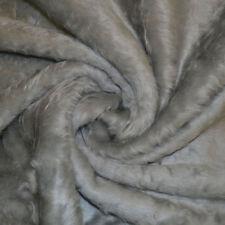 Light Grey Faux Fur Fabric