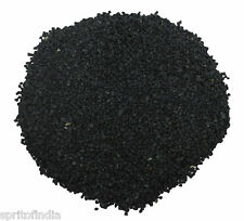 Aquarium water Black color D Size sand gravel 2kg stone pebbles chips decoration