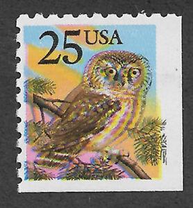 US 2285 (1988)  Owl - MNH - EFO: Color Shift - 4 eyed owl