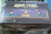 😍  Star Trek THE CARD GAME 1996 Fleer UNOPENED BOX 12 decks packs Set Starter