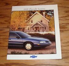Original 1998 Chevrolet Lumina Sales Brochure 98 Chevy