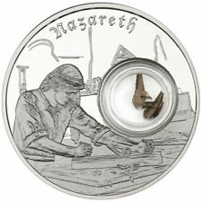 1 - 1 oz .999 Silver Round - Footsteps of Jesus Silver Round - Proof - COA- Case
