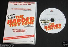 JIMMY CLIFF 'LOOTIN' & A-SHOOTIN'' 2006 PROMO DVD—HARDER THEY COME