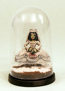 28mm Ghost Bride Painted Miniature in Display Dome-Resin-Alternative Armies