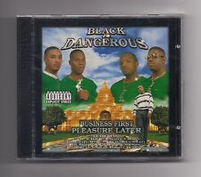 BLACK & DANGEROUS - Business first pleasure later CD rare 1999 SEALED Y.A.B.