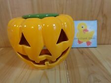 Jack O Lantern Scent Pot Home Fragrance Aromatics Use w Simmering Potpourri Oil