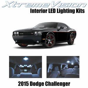 XtremeVision Interior LED for Dodge Challenger 2015+ (9 PCS) Cool White