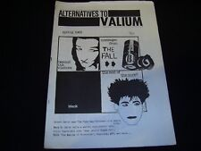 ALTERNATIVES TO VALIUM - SPRING 1983 DIY Punk New Wave Fanzine The Fall Cure APB