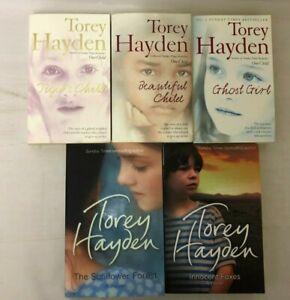 5x Torey Hayden Books Beautiful Child Tiger's Child Ghost Girl Sunflower Forest