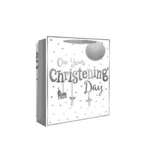 Christening Gift Bag Unisex New Baby  Medium