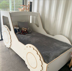 Kids King Single Tractor Bed - Australian Made - READ ALL INFORMATION PROVIDED
