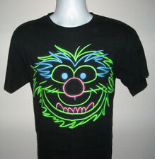 Mens The Muppets Animal T Shirt Large Neon Face logo 100% cotton