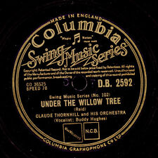 CLAUDE THORNHILL & HIS ORCH. Snowfall / Under the willow tree     78rpm   X1632