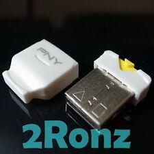 PNY Phone Baby Micro SD SDHC SDXC TF Nano USB Card Reader Adapter Tablet White