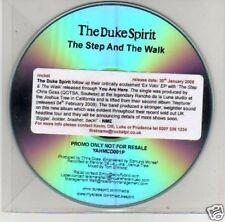(B502) The Duke Spirit, The Step & The Walk - DJ CD
