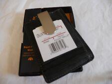 Buxton Montana Front Pocket Money Clamp,Black