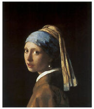 Girl with a Pearl Earing, c.1666 - Jan Vermeer - Art on Canvas