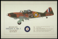 419068 Boulton Paul Defiant F Mk I A4 Photo Print